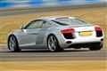 Audi R8 on track