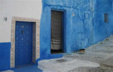 Kasbah des Oudayas, Rabat,  Maroc