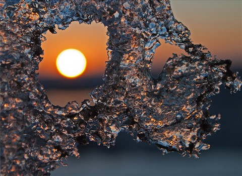 Sunny ice
