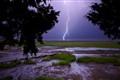 Lightning over Tybee Island Ga