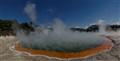The ever changing thermal land of Wai-O-Tapu, Rotorua, New Zealand