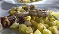 Grigliata mista con patate - Sicilia - Italy