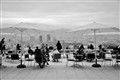 Dining on a Barcelona Boulevard