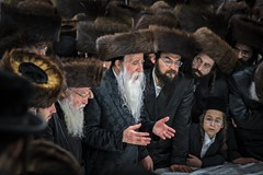 The Rabbi and followers - edited
