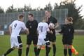 Football (soccer) officials handshake