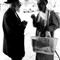Two Yemanite Jews conversing in Ashkelon