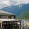 Horseshoe bay's boathouse: