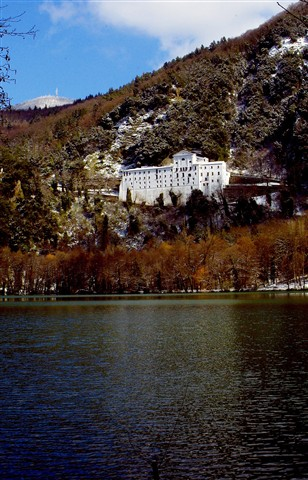 Abbey San Michele - Monticchio Lakes (Italy)