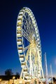 Big wheel in blue hour