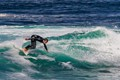 Surfing at Monterey