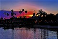 Sunset at DisneyWorld in Orlando, Florida