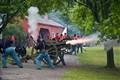 Civil War Cannon - Fire!