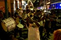 Brass band on Frenchman St. NOLA