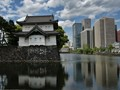 Tradition and modernity (At the Imperial Palace in Tokyo)