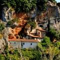 An empty monastery