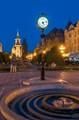 City of Timisoara at dawn.