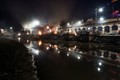 PHOTO was taken at pashupati temple at night while dead bodys are burning...