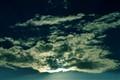clouded sun...