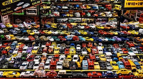 Cleveland Car Show Toys