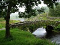 A humpback bridge in the Lake District