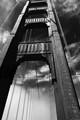 "California's ""Black and White"" Gate Bridge"