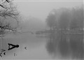 Foggy boathouse_