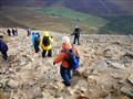 Croagh Patrick descent