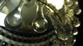 chandelier, macro view
