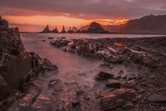 黎明的海岸线