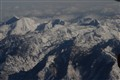 Utah Mountains from the air