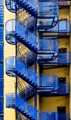 Blue stairs_