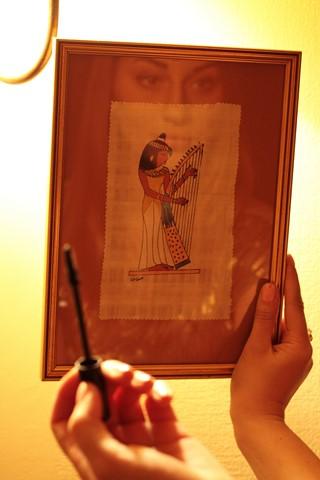 ēģiptietes portrets