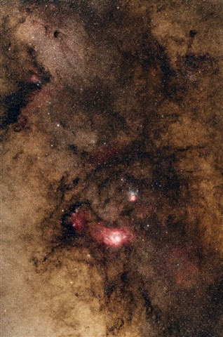 M8 and M20 Region