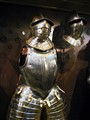 Armour display in The Tower of London