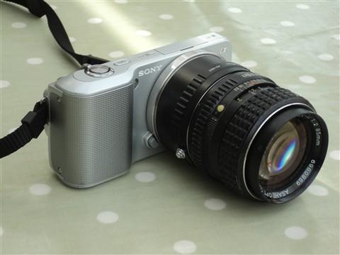 Nex-3 + SMC Pentax M 85mm f2 (b)