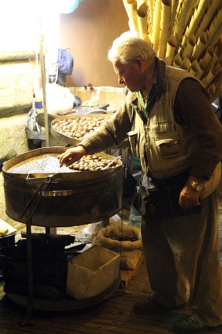 Roasted Chestnut Vendor
