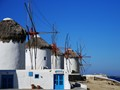 Mykonos wind mills