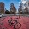 bicycle against vehicles: OLYMPUS DIGITAL CAMERA