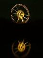 Ferris wheel - Reflection in a lake