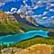 Bannff Lake Peyto