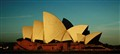 Sydney Opera House in a different light