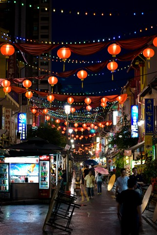 Chinatown Alley, Singapore