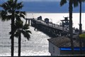 Storm over San Clemente pier