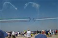 Frecce Tricolori at BIAS 2012 - Bucharest, Romania