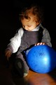 My son and the blue baloon
