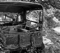 Abandoned Jeep - Lantau Island, Hong Kong, China