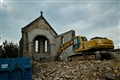 Removing the old chapel