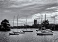 St. Charles River B&W