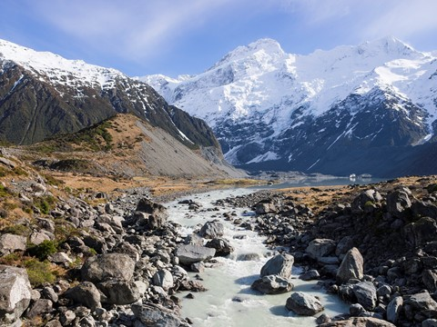 Glacial Melt - Mt. Cook