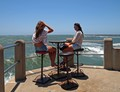 Durban's Golden mile beach offers surfing swimming or just sitting watching the waves.